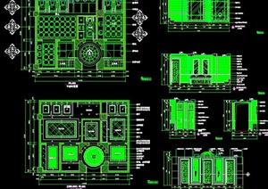 宾馆酒店卫生间设计施工图