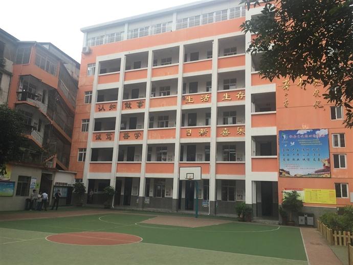 某小学教学楼 已竣工使用