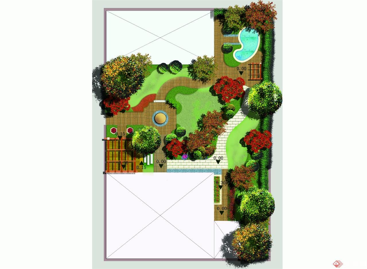 私家花园-Model 拷贝 - 标高