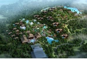 某温泉度假酒店温泉区修建性详细规划jpg方案