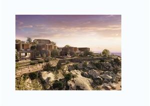 现代风格莱里亚住宅别墅设计jpg实景图