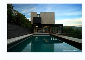 加拿大特林布兰山高级别墅住宅实景图
