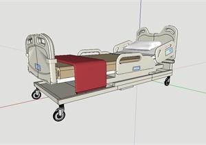 某高级病床设计SU(草图大师)模型