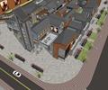 商業建筑,商業街,商業樓建筑