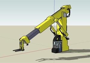 工程施工机械设备设计SU(草图大师)模型